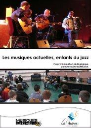 Les musiques actuelles enfants du jazz