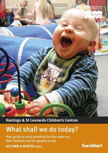 Hastings Children's Centres events - East Sussex County Council