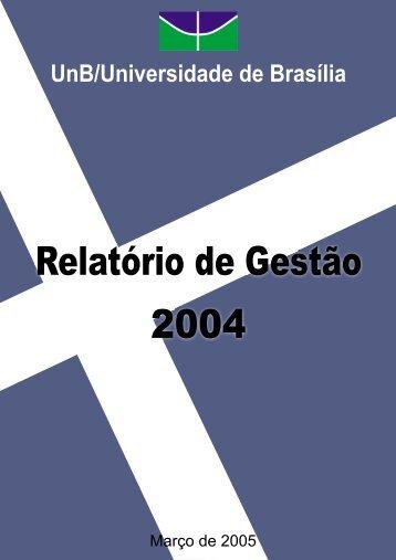 Relatório de Gestão 2004