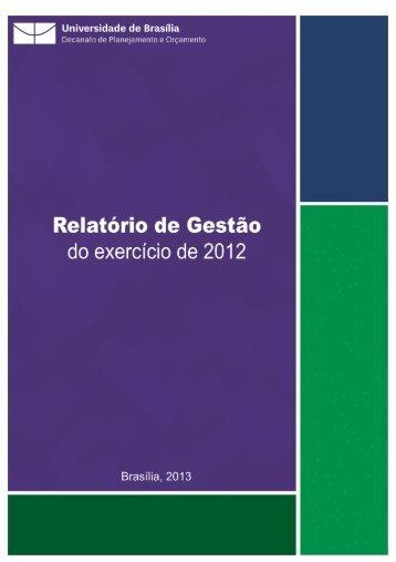 Relatorio Gestao 201.. - Decanato de Planejamento e Orçamento