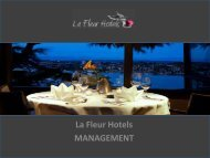 management solutions - Willemsen Hospitality Holding