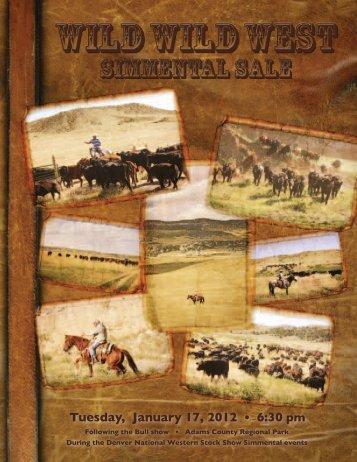 Simmental Sale - Cow Camp Ranch