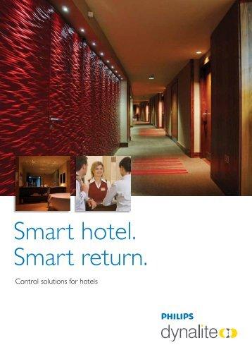 Smart hotel. Smart return. - Philips Lighting
