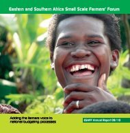 Eastern and Southern Africa Small Scale Farmers' Forum