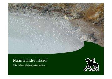 Silke Ahlborn - Naturwunder Island - Nationalpark Wattenmeer