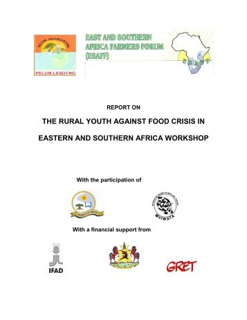 Food Security HIV Report Final Draft 23 November. - the Eastern ...
