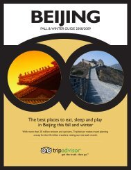 The best places to eat, sleep and play in Beijing this ... - TripAdvisor