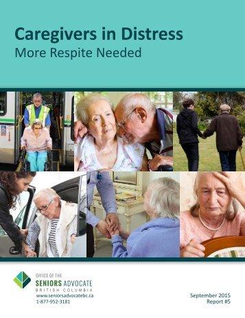 Caregivers in Distress
