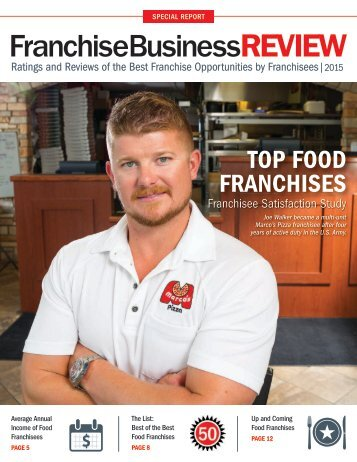 Top 40 Food Franchises of 2015