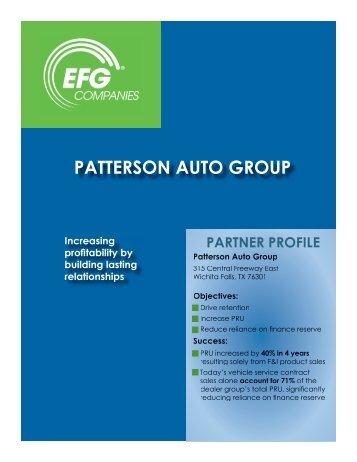 PATTERSON AUTO GROUP