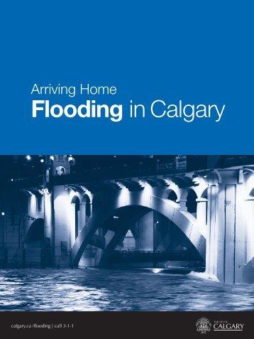 Flooding in Calgary