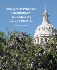 Analyses of Proposed Constuonal Amendments