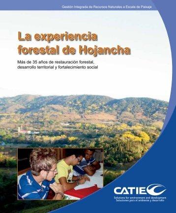 La experiencia forestal de Hojancha