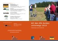 Mit den Alb-Guides unterwegs 2010 - im Hotel Gasthof zum Süßen ...