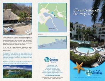marina folleto - Marina Resort