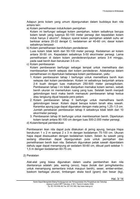Budidaya Ikan Nila Dalam Ember - InfoAkuakultur.com
