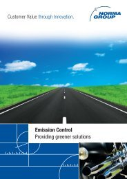 Emission Control Providing greener solutions