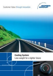Cooling System Less weight for a lighter future