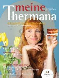 Zeitschrift des Wohlbefindens - Thermana Laško