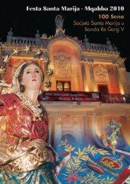 Programm tal-Festa - Santa Marija u Banda Re Gorg V