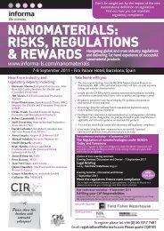 Risk Regulations and Rewards - Steptoe & Johnson LLP