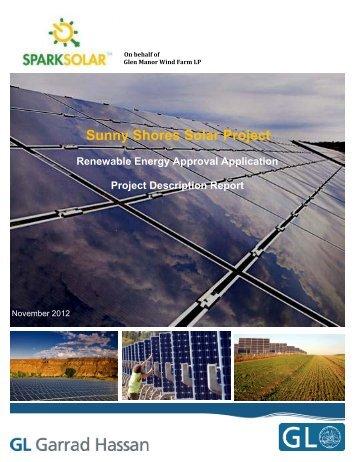 Sunny Shores Solar Project