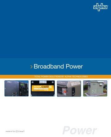 Broadband Power
