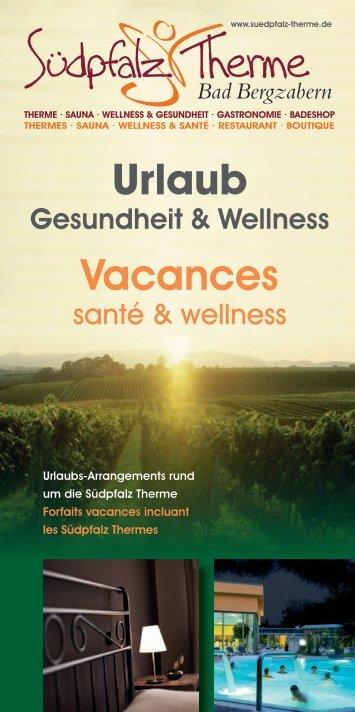 Urlaub Vacances - Südpfalz Therme