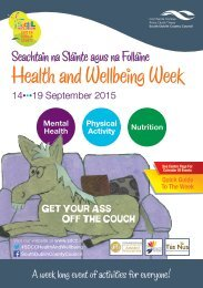 Health and Wellbeing Week