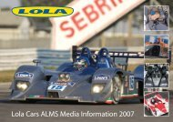 Lola Cars: The Technology to Win - Lola Heritage