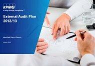 External Audit Plan 2012/13