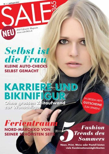 1 free magazines from sale365 ch. Black Bedroom Furniture Sets. Home Design Ideas