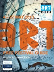 4 – 27 MAY 2013 FREE FESTIVAL GUIDE