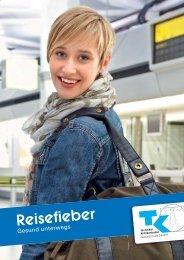 Broschüre Reisefieber - Techniker Krankenkasse