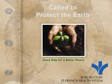 Good Help for a Better Planet