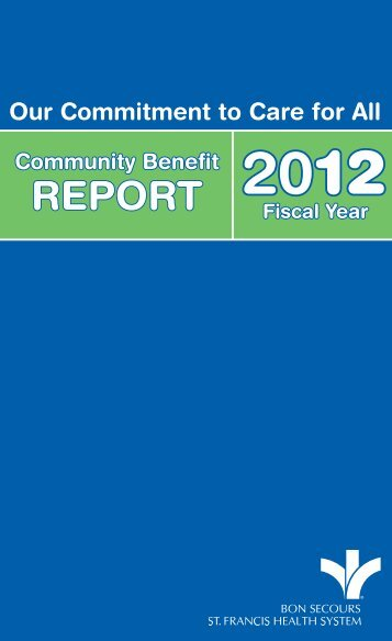 REPORT - Bon Secours St. Francis Health System