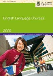 English Language Courses 2009