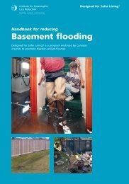 Basement flooding