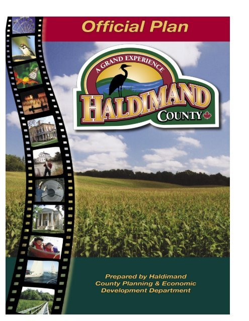 HC Official Plan Document - Haldimand County