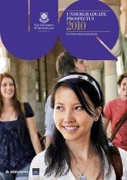 UNDERGRADUATE PROSPECTUS - Study Brisbane
