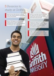 5 Reasons to study at Griffith…