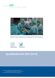 E Verbesserungsaktivitäten und -projekte - Spital Region Oberaargau