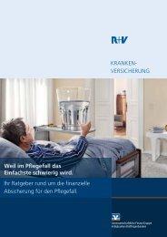 Weil im Pflegefall das Einfachste schwierig wird - R+V Versicherung