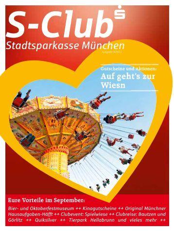 Auf geht's zur Wiesn - Stadtsparkasse München