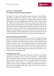 Die Neff GmbH ist ein Traditionsunternehmen mit über 130-jähriger ...