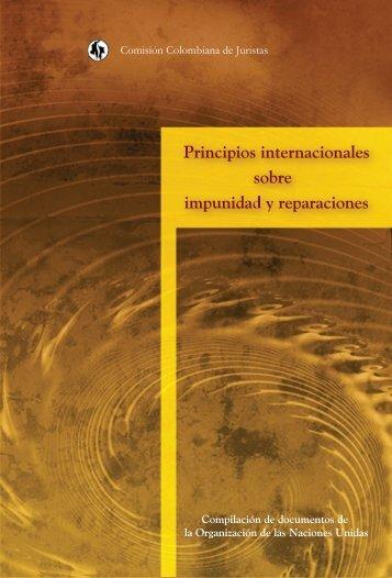 Principios internacionales sobre impunidad y reparaciones