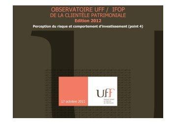 OBSERVATOIRE UFF / IFOP