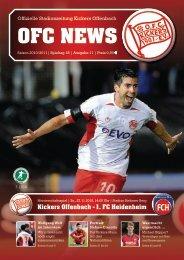 Kickers Offenbach - 1. FC Heidenheim
