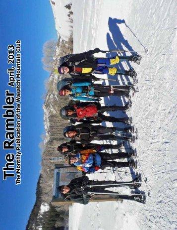 Apr - Wasatch Mountain Club