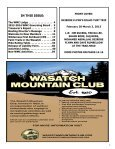 Apr - Wasatch Mountain Club - Page 3